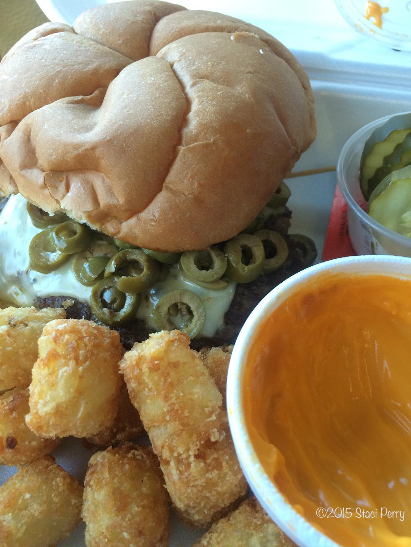 sweet burger Channel Inn Fairmont