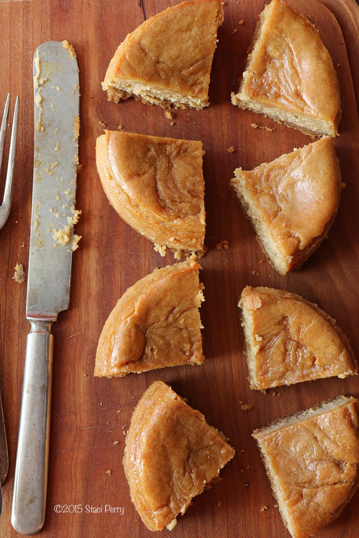 caramel apple cider cheesecake